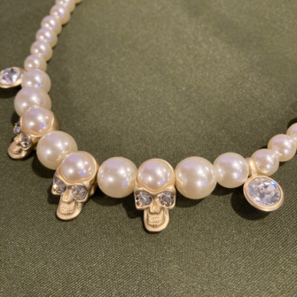 skall pearl necklace