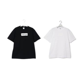 テープ刺繍Tシャツ