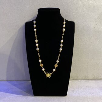 Champagne Angel Necklace